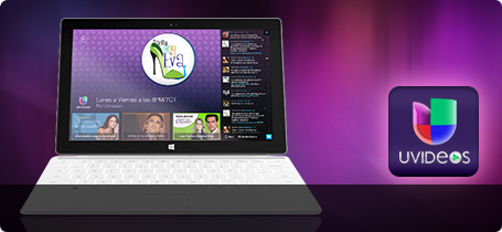 Univsions uVideos Windows 8 Application